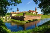 Medieval castle in Nesvizh, Belarus. — Stock Photo