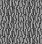Seamless geometric op art texture. — Stock Photo