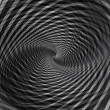 Stock Photo: Abstract black background with vortex whirl movement.