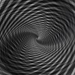 Abstract black background with vortex whirl movement. — Stock Photo