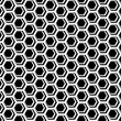 Seamless hexagons cellular texture. Honeycomb motif. — Stock Vector