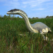 Cryptoclidus (Plesiosaur). Model of dinosaur. — Stock Photo