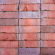 Clinker bricks texture. — Stock Photo
