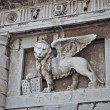 Winged Lion symbol of St Mark — Stock Photo