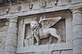 Winged Lion symbol of St Mark — Stock Photo