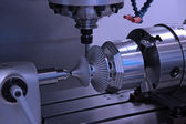 Drilling machine workpiece — Stock Photo