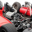 Stock Photo: Engine of racing race car