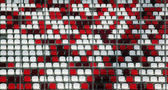 Tribuna del estadio — Foto de Stock