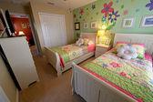 Zweibettzimmer — Stockfoto