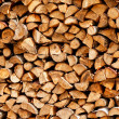 Pile of fire wood — Stock Photo