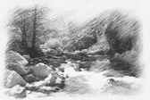 The Devin river,Bulgaria — Stock Photo