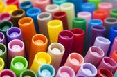 макро цветные ручки — Стоковое фото