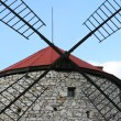 Detail of windmill — Stock Photo