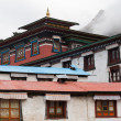 Stock Photo: Tengboche buddhist monastery in Himalaya
