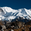 Royalty-Free Stock Photo: Mountain range in the vicinity of Cho oyu peak