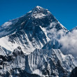 Everest Mountain Peak or Sagarmatha: 8848 m — Stock Photo #11787445