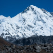 Cho oyu peak: one of the highest summits in Himalayas — Стоковая фотография