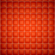 Stock Photo: Isolation and segregation: Red stitched leather mattresses