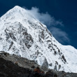 Pumo Ri Peak - Himalaya mountains — Stock Photo