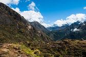 Lhotse and Ama Dablam peaks: Himalaya landscape — 图库照片