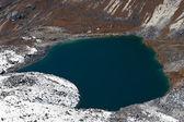 Angladumba lake not far from Renjo Pass in Himalayas — Stock Photo