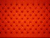 Soft and luxury: Red knobbed leather pattern — Stock Photo