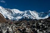Mountain range in the vicinity of Cho oyu peak — Stock Photo