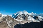 从戈焦 ri 高峰看山首脑会议现场 — 图库照片