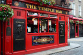 Famous Temple Bar in Dublin — Stock Photo