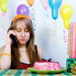 Sad birthday — Stock Photo #11553344
