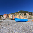 Seaside in Sori, Italy - Stock Photo