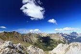 Dolomites landscape on summer — Stock Photo
