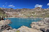 Careser lake, Trentino, Italy — Stock Photo