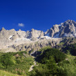 Stock Photo: Les Grandes Jorasses - Mont Blanc