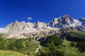 Les Grandes Jorasses - Mont Blanc — Stock Photo