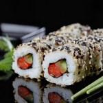 Vegetarian sushi — Stock Photo #10856119