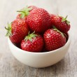 Fresh red strawberries — Stock Photo #10954686