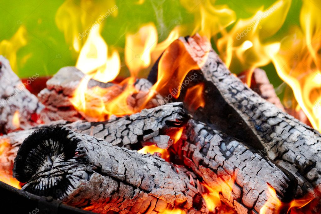 Burning fire — Stock Photo #11651375