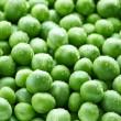 Green peas background — Stock Photo