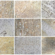 Twelve Natural Limestone Background or textures — Stock Photo #11540293