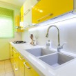 New kitchen in a modern home — Stock Photo #11549153