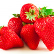 Stock Photo: Group of strawberries