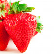 Foto Stock: Group of strawberries
