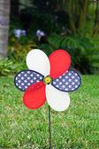 Pinwheel with the U.S. symbol — Stock Photo
