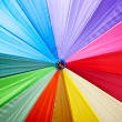 Stock Photo: Colourful umbrellbackground
