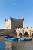 Mogador fortress building at Essaouira, Morocco — Stock Photo