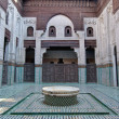 Bou Inania Madrasa at Meknes, Morocco — Stock Photo