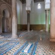 Saadian tombs in Marrakech, Morocco - Stock Photo