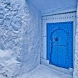 City streets of Chefchaouen, Morocco — Foto de Stock