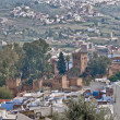 Kasba of Chefchaouen blue town at Morocco — Foto Stock